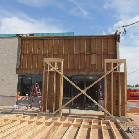 Framing Store Front