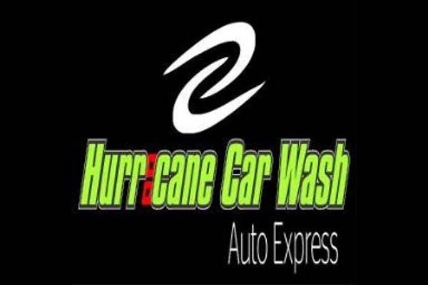 Hurricane Car Wash Logo