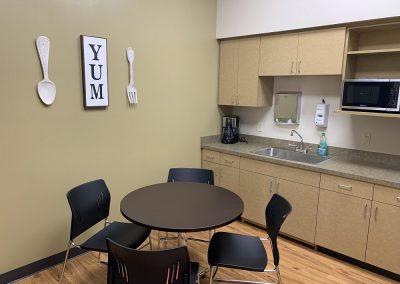 Urgent Care NextCare Kitchen Area