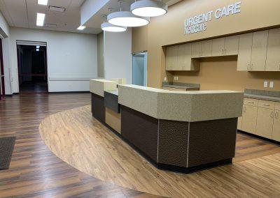 Urgent Care NextCare Reception Area
