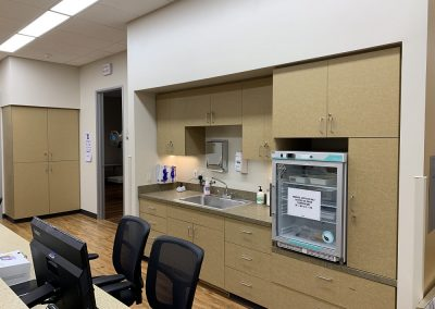 Urgent Care NextCare Reception Back Area