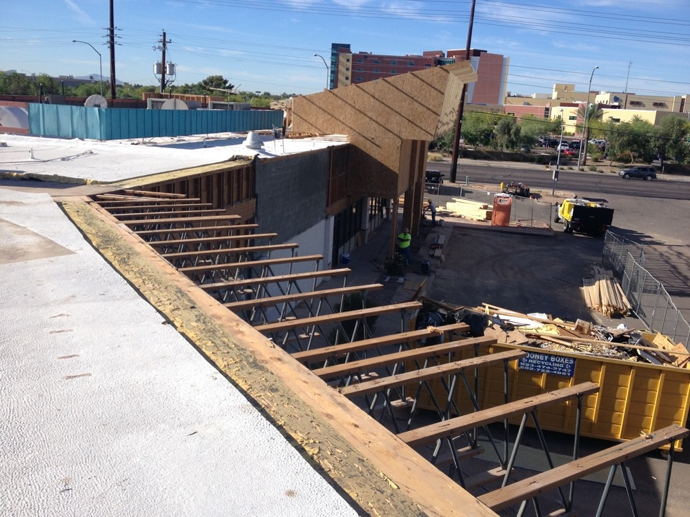 View from the Roof of Framing