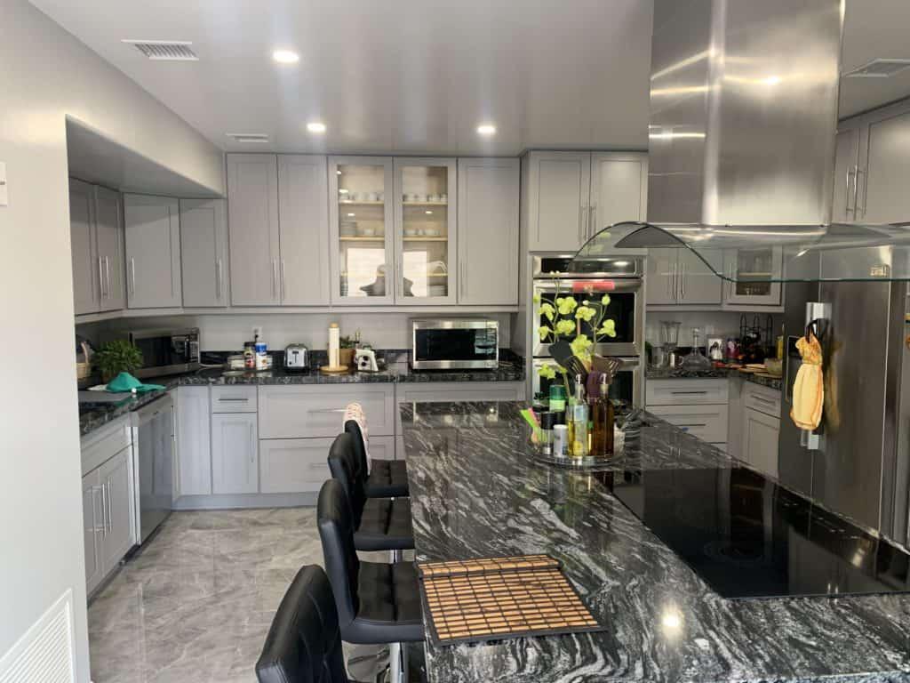kitchen remodel background
